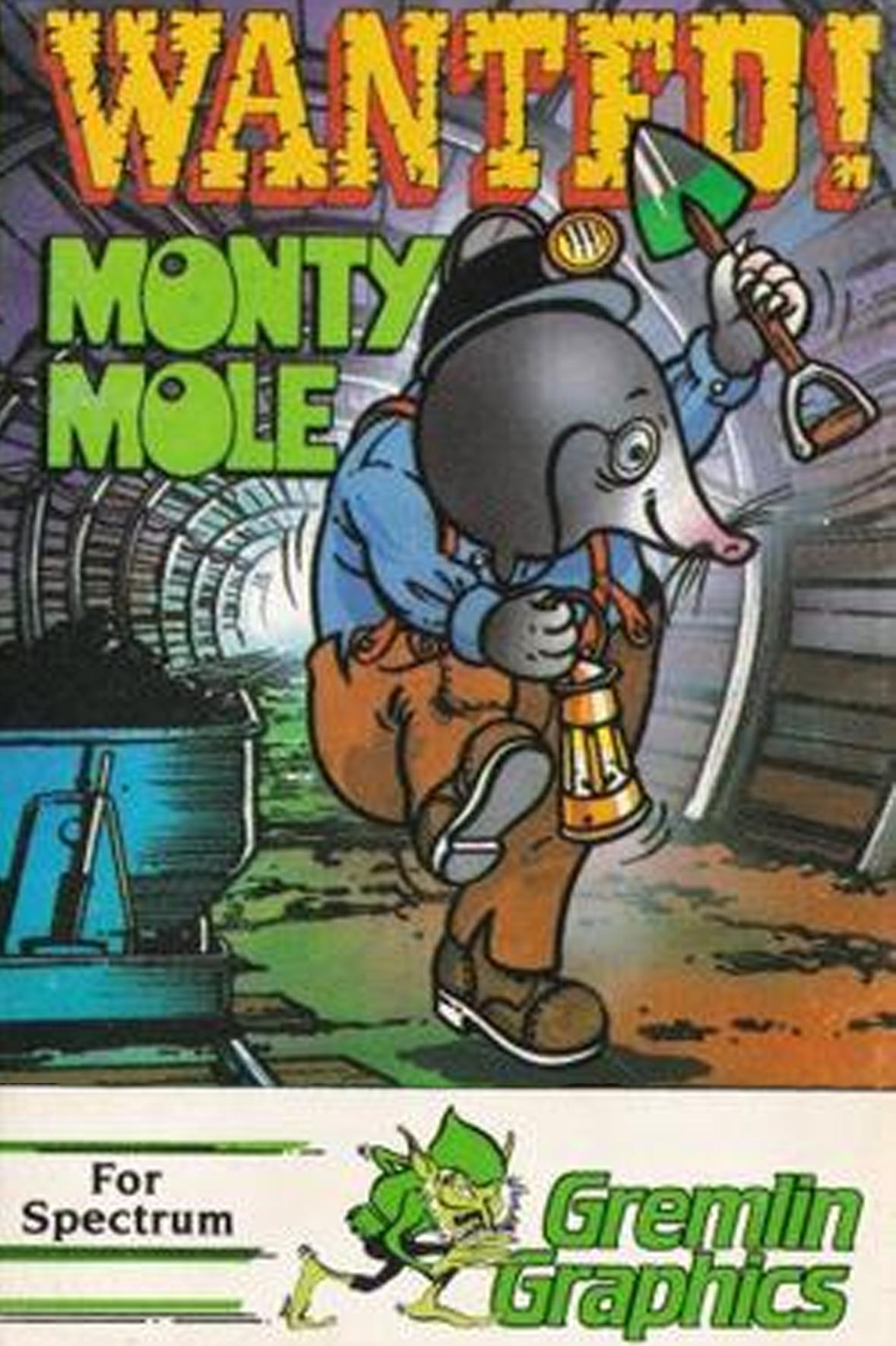 Wanted: Monty Mole  | RBG